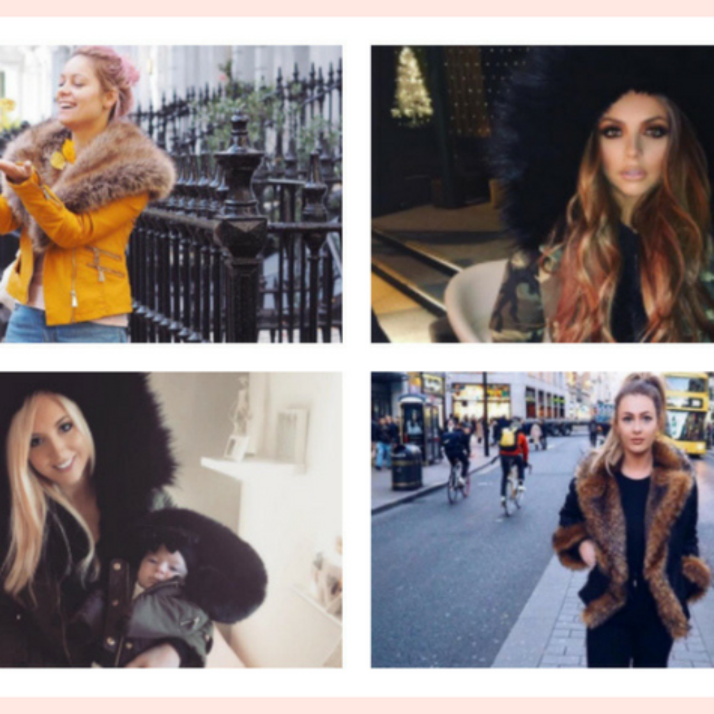 Celebs & Blogging Babes In Faux Fur Coats