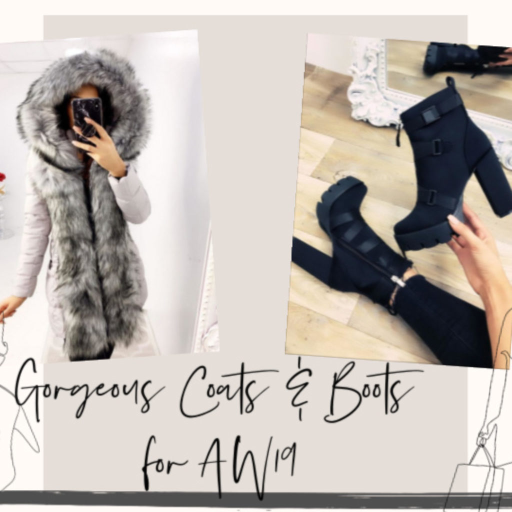Gorgeous Coats & Boots for A/W 2019