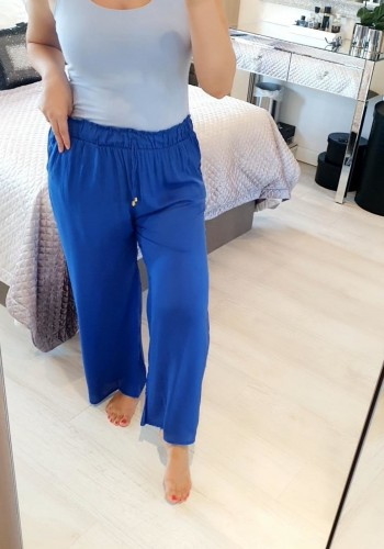 Lili Elasticated Super Soft Wide Leg Trousers