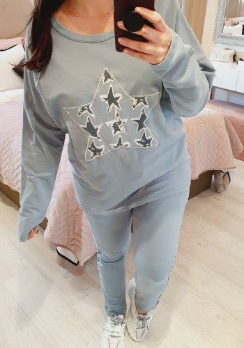 Lottie Star Detail Loose Fit Loungewear Set