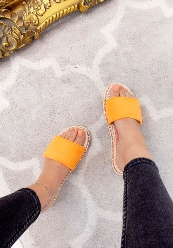 Idene Plain Faux Suede Sliders