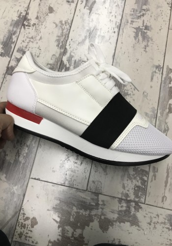 Madrid White light weight trainers