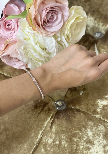 Hanel Diamante Detailed Bangle