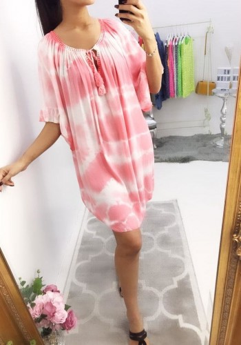 Malila Tie Dye Loose Fit Dress
