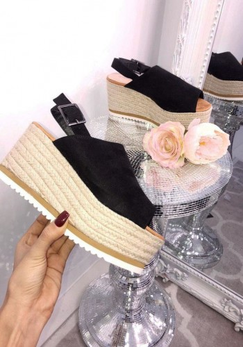 Meadow Faux Suede Wedge