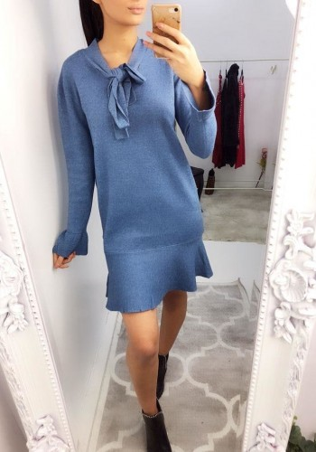 Milana Heavy Knit Jumper Dress
