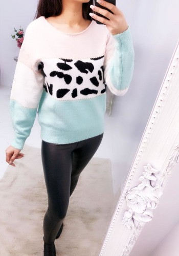 Narlah Animal Glitter Super Soft Knitted Jumper