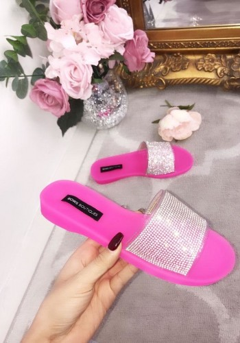 Odette Slip On Jelly Sliders