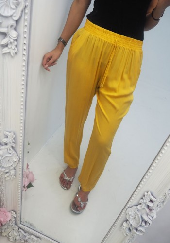 Emilie Elasticated Harem Trousers