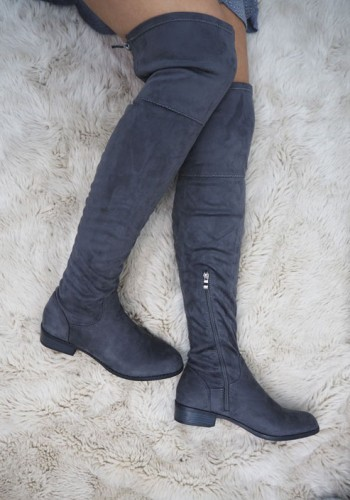 Alva Suedette Over The Knee Boots