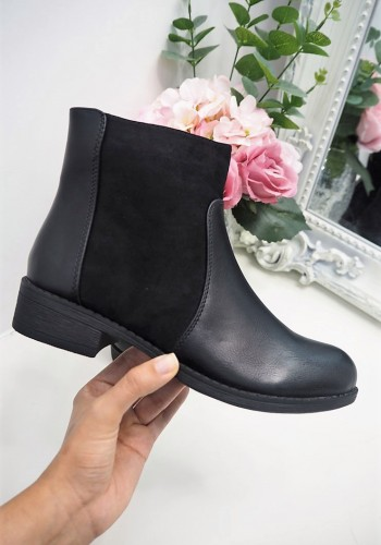 Safron two-tone ankle boots