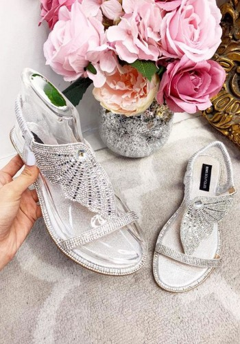 Samoa Diamante Wing Sandals