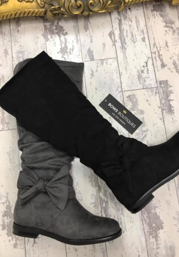 Melba Bow Detail Knee High Boots