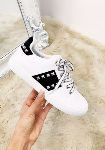 Tamsin Stud Detail Lightweight Trainers