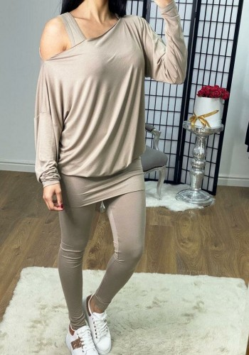 Amy 3 Piece Jersey Super Soft Loungewear Set