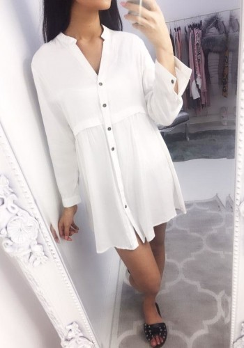 True Thin Shirt Smock Dress