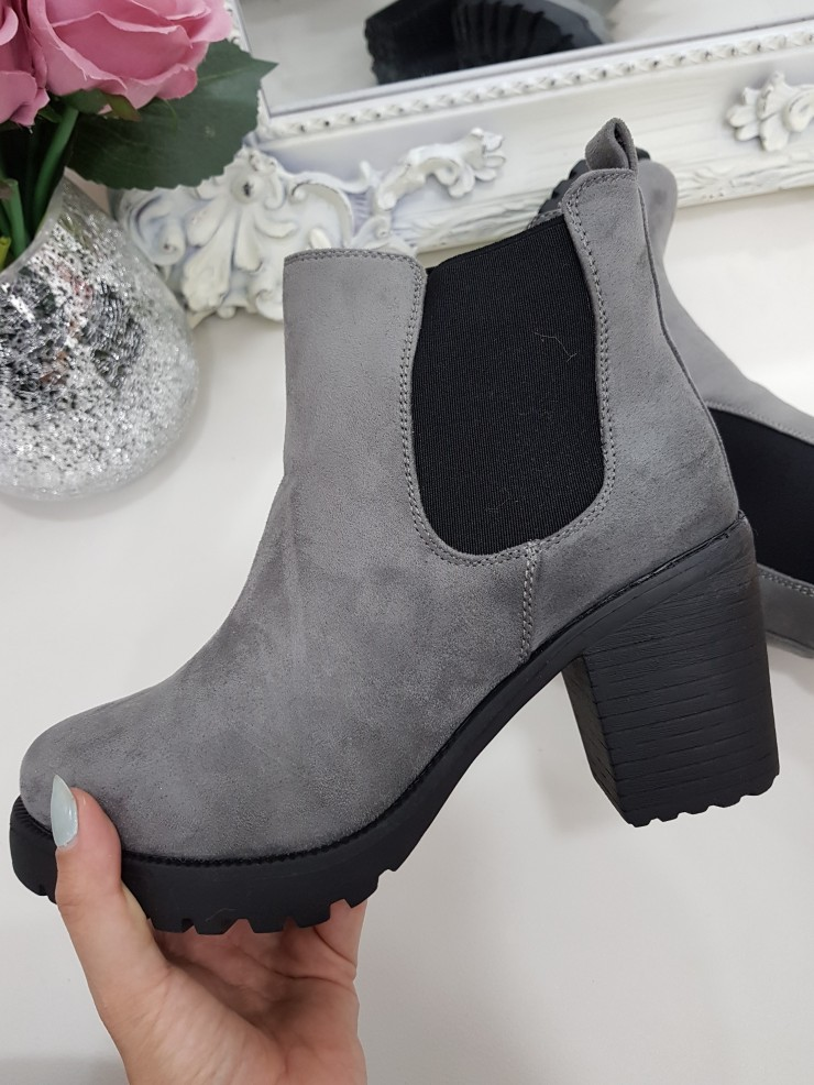 Abby Suedette Chelsea Ankle Boots