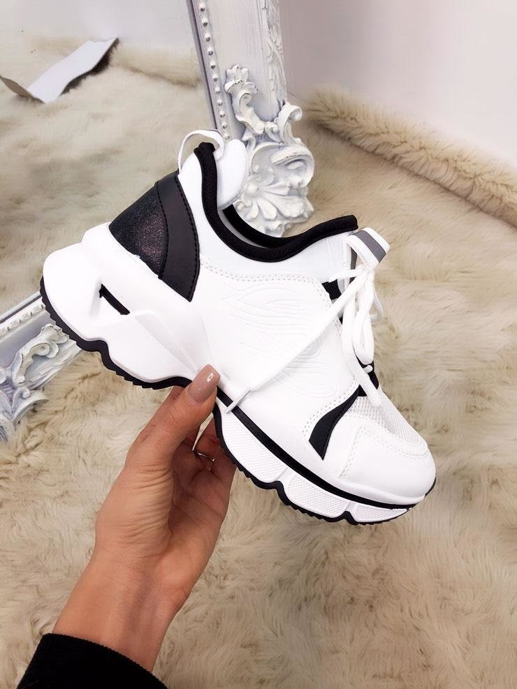 Lotty Chunky Sole Side Detail Light Weight Trainers